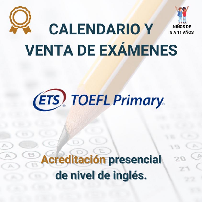 ETS TOEFL Primary