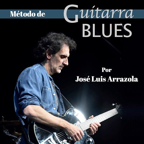 Método de guitarra BLUES-PDF y Videos