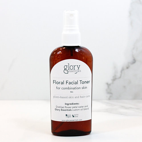 Floral Toner for Combination Skin