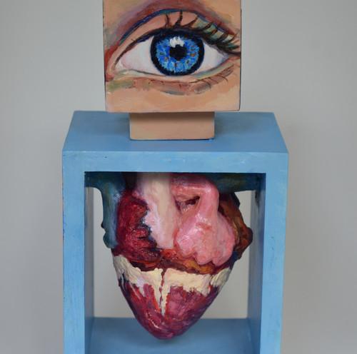 Blue eye, kind heart