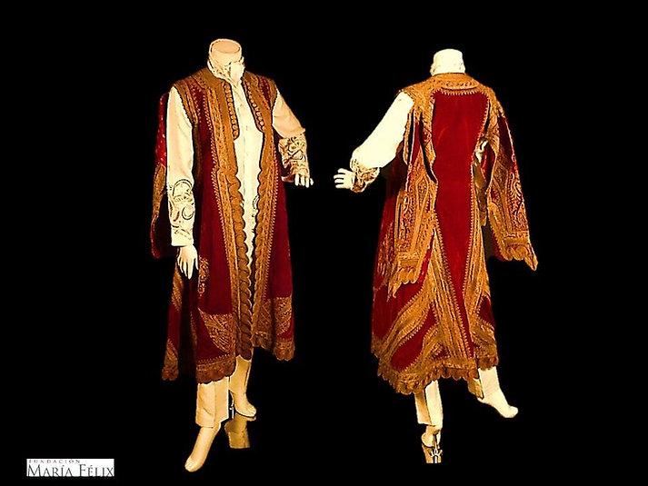 Casaca otomana siglo XVIII
