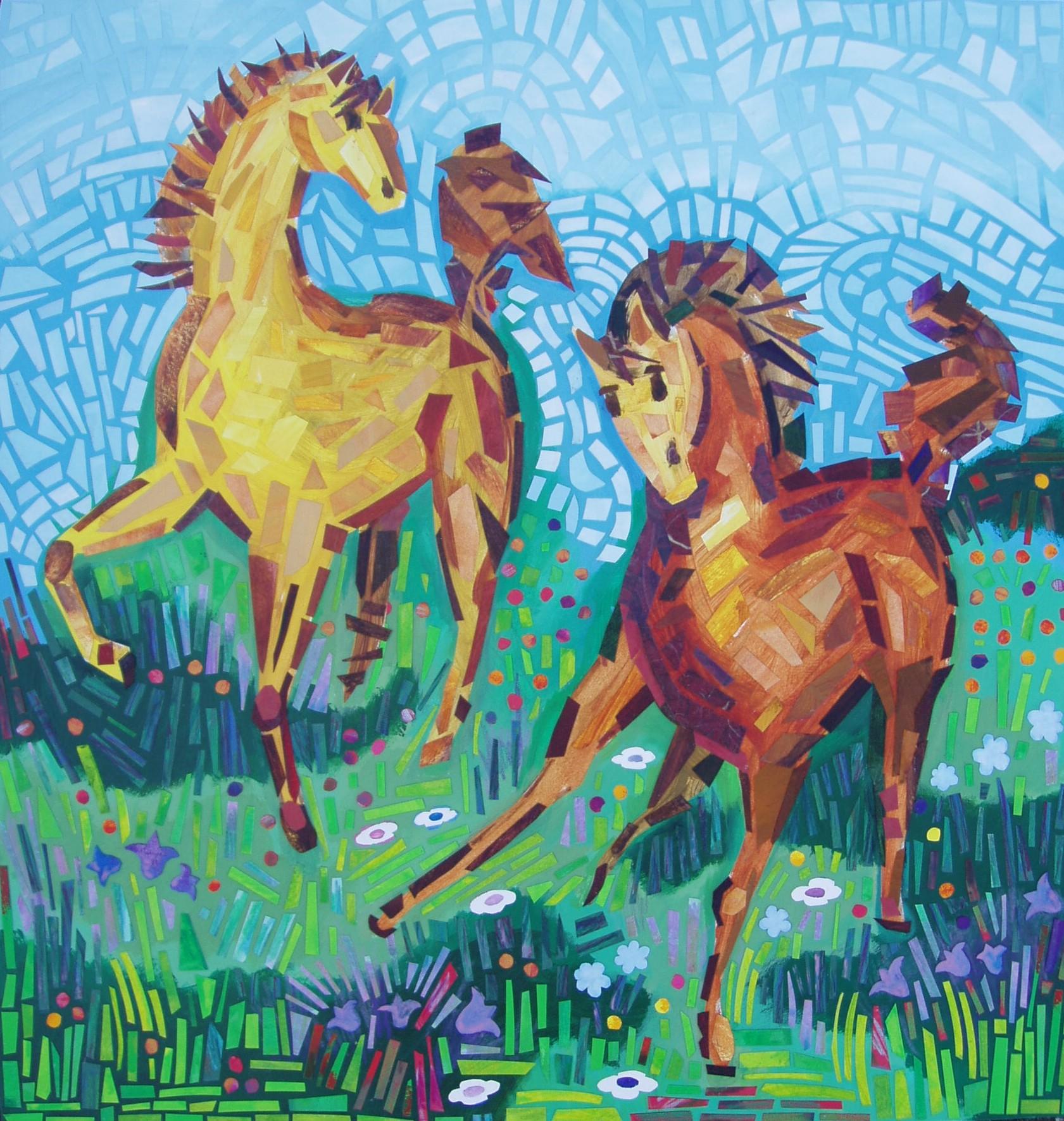 Dancing Horses 1 2006