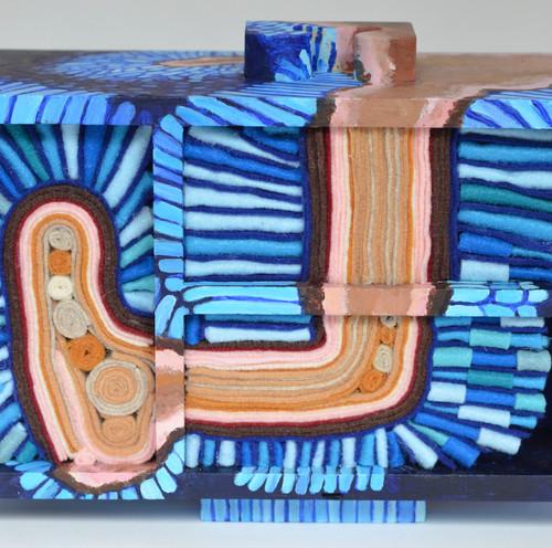 Large intestine microvilli