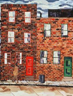 Philadelphia Rowhouse 2 1995