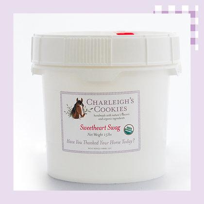 Sweetheart Swag 15lb Bucket- Charleigh's Cookies