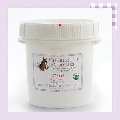 XOXO 6.5lb Bucket- Charleigh's Cookies