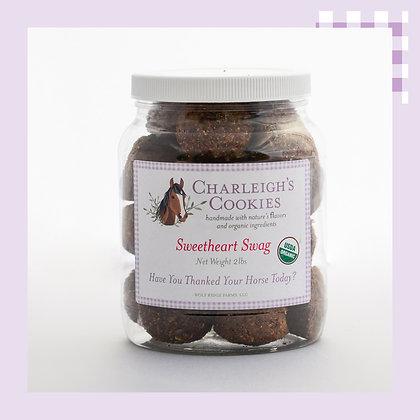 Sweetheart Swag 2lb Jar- Charleigh's Cookies