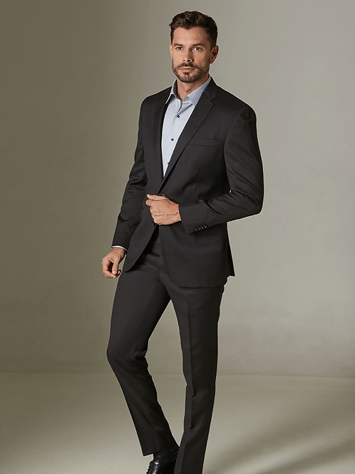 TRAJE GRIS OXFORD OTTIMO / PERRY ELLIS