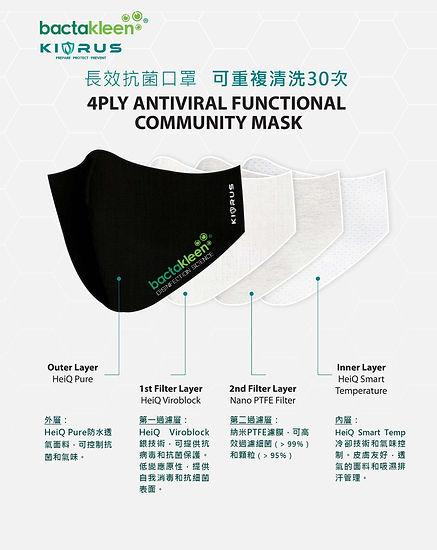 bactakleen mask