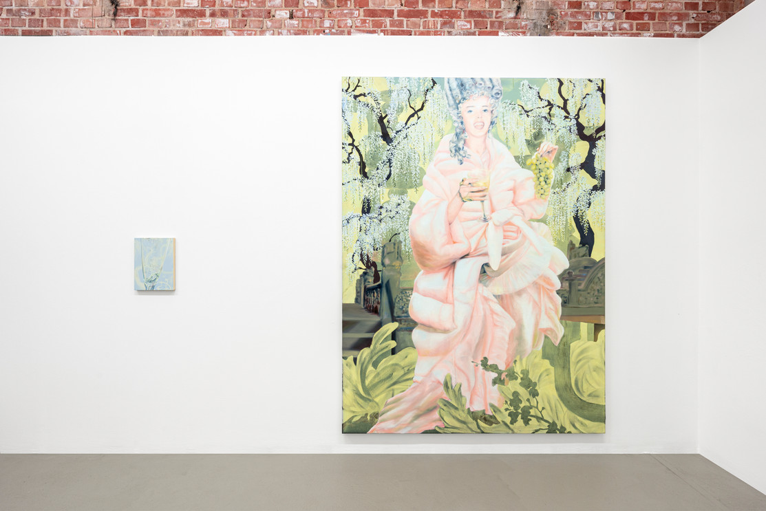 Exhibitionview VERSUS´  (Solo)  Galerie She BAM!, Spinnerei Leipzig 2021.