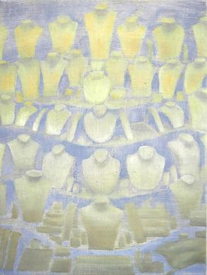 Meeting´40x30 cm, oil on canvas. 2020.jp