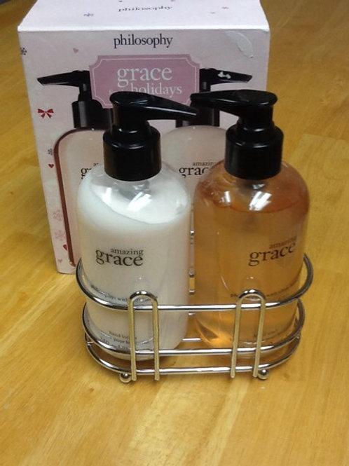 Philosophy Amazing Grace hand wash and lotion set