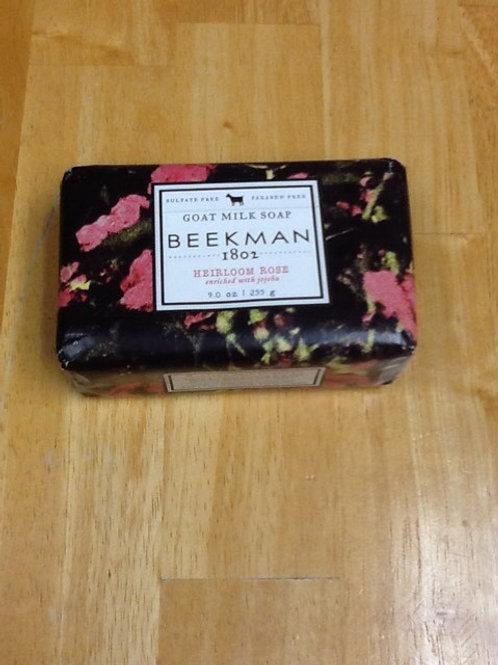Beekman Goat Milk Soap Heirloom Rose