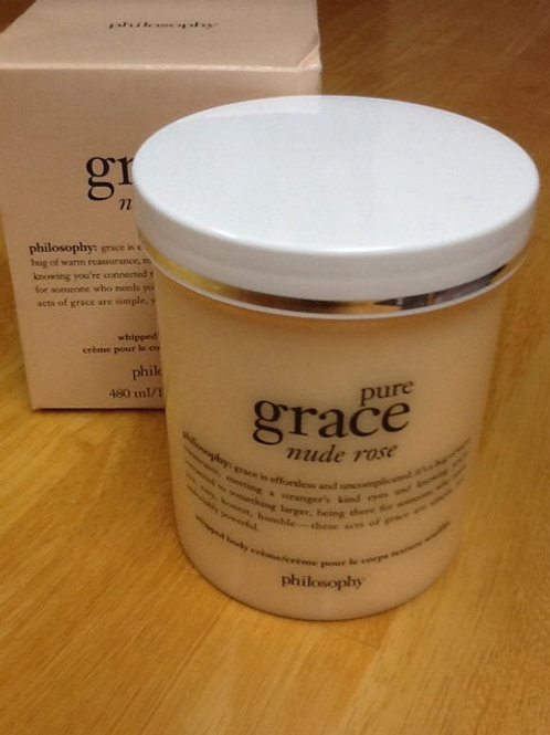 "Philosophy Pure Grace ""Nude Rose"" Whipped Body Creme"