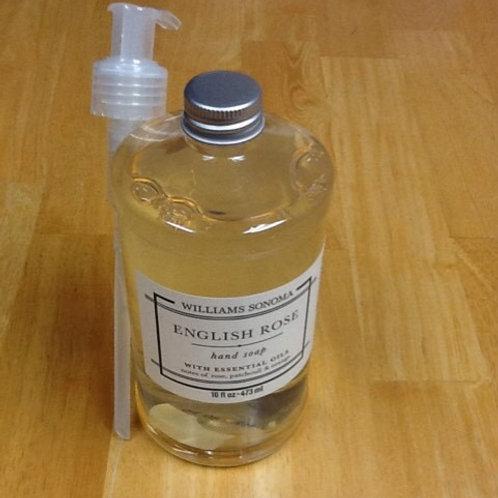 Williams Sonoma English Rose Hand Soap