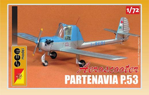 """Partenavia P.53 """"Aeroscooter"""" I-REDI"""