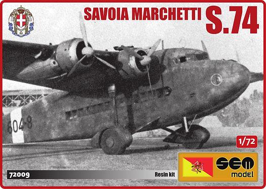 Savoia Marchetti S.74 - Regia Aeronautica