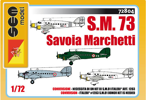 Savoia Marchetti S.73 - Regia Aeronautica/A.M.I.