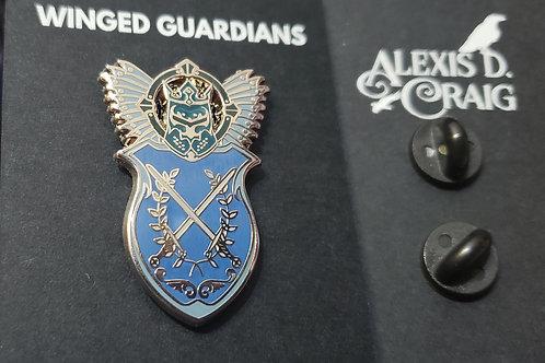 Winged Guardians Enamel Pin