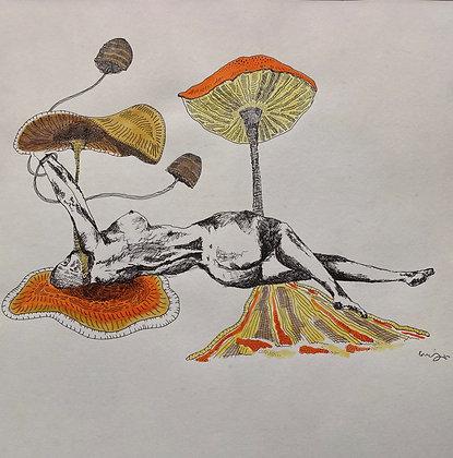 In A Tangle Print
