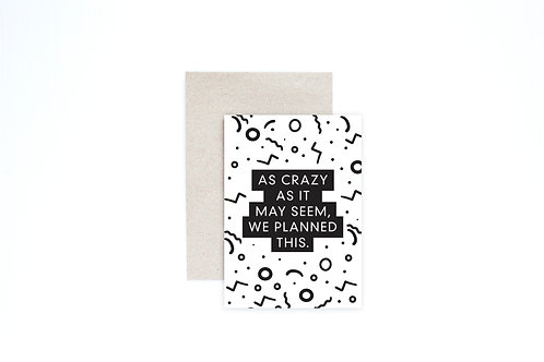 Announcement Greeting Card