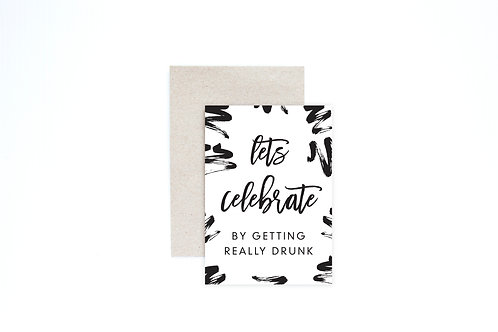 Let's Celebrate Greeting Card