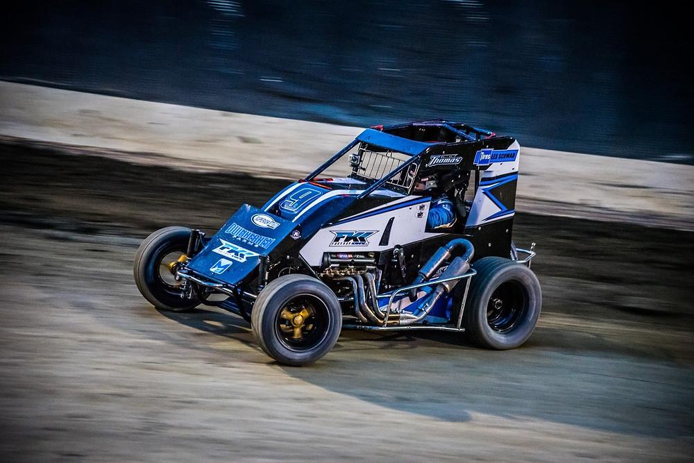 2017 NW Focus Midgets Champion - Tristan Thomas