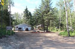 RV with garage