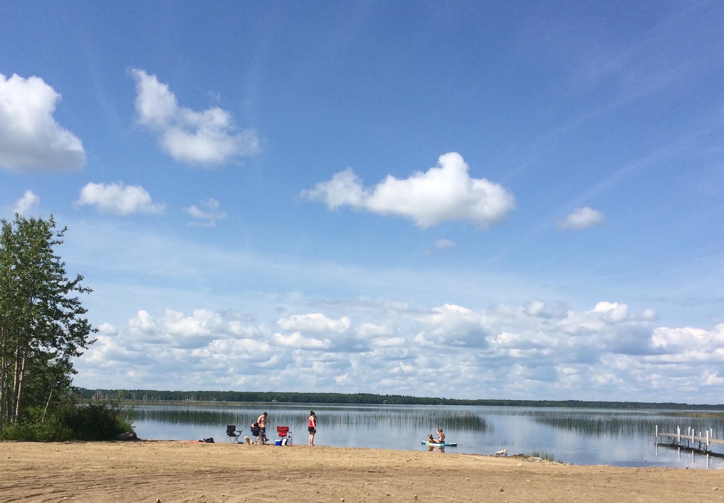 Community Swimming Area - Delaronde