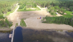 Aerial View From Lake