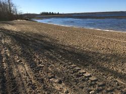 New Beach area