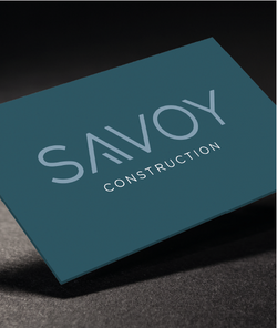 Savoy Construction Business Card
