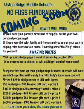Our no fuss fundraiser coming soon!!