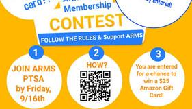 ARMS PTSA Membership Contest