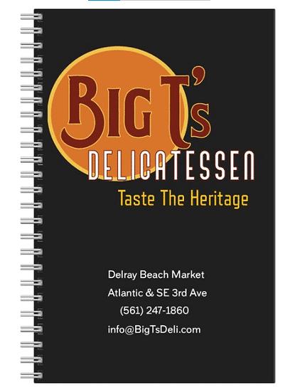 Big T's Deli Recipe Book