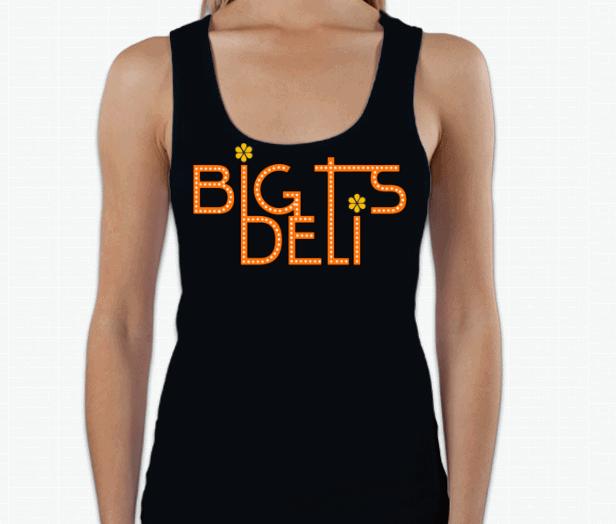 Limited Edition Big T's Deli Ladies Tank