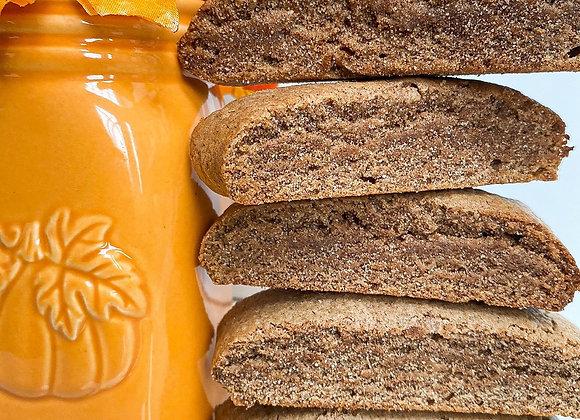 the perfect fall flavor pumpkin spice mandel bread