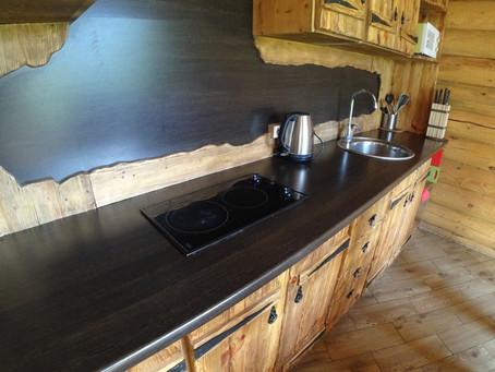 Кухни и кухонные уголки в домах.