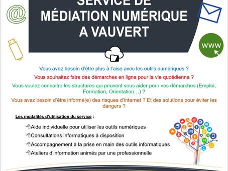 Service de médiation numérique - Vauvert