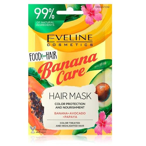 Food for hair Banana care nourishment