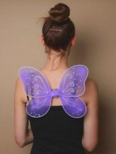 Lilac Fairy Wings 33cm x 25cm