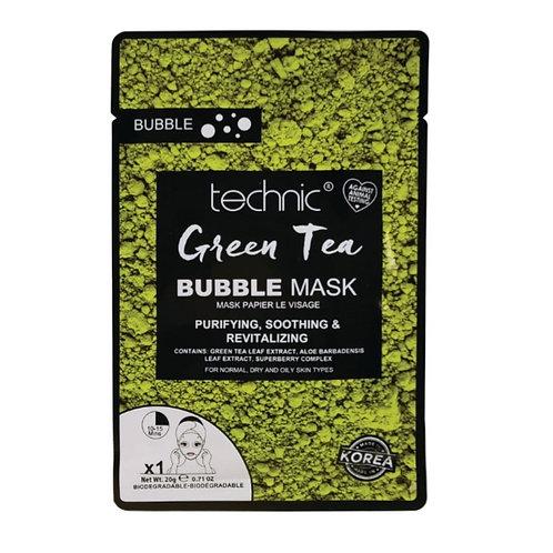 TECHNIC GREEN TEA BUBBLE MASK