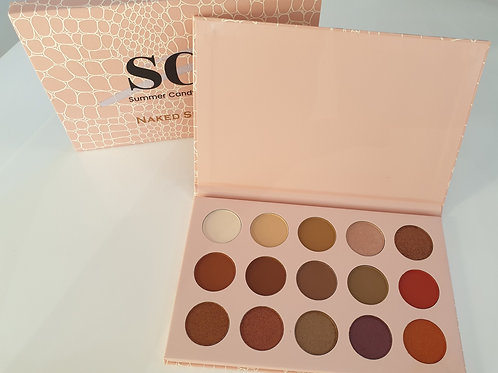 'Naked Shades 2' 15 shade eyeshadow palette