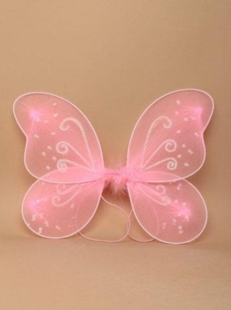 Pink Fairy wings 33 x 25cm