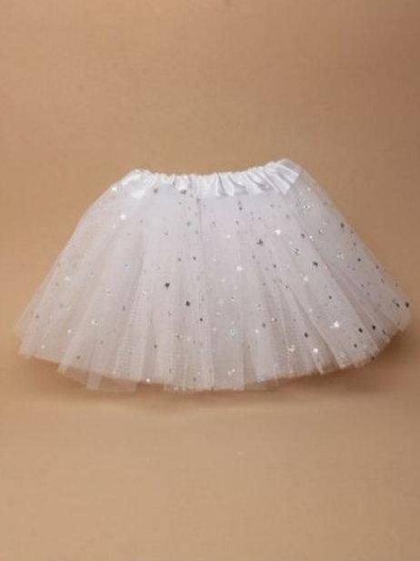 White Tutu Toddler Size 12 to 24 months