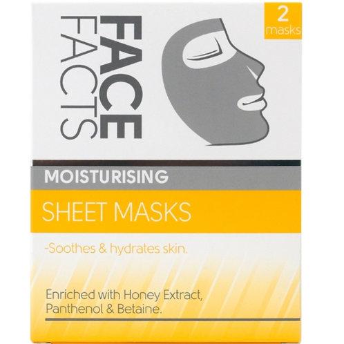Face Facts Moisturising Sheet Mask x2