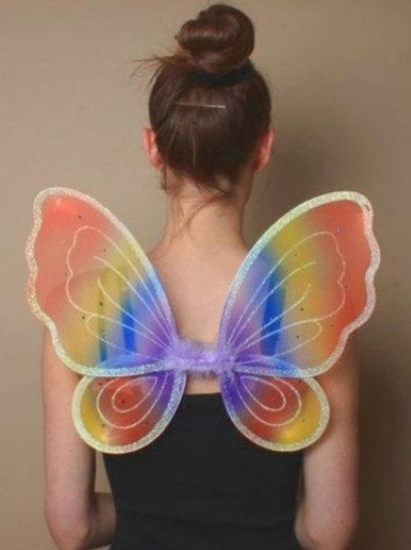 Rainbow Fairy Wings 44cm x 34cm