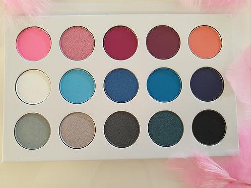 'Featherly' 15 shade eyeshadow palette