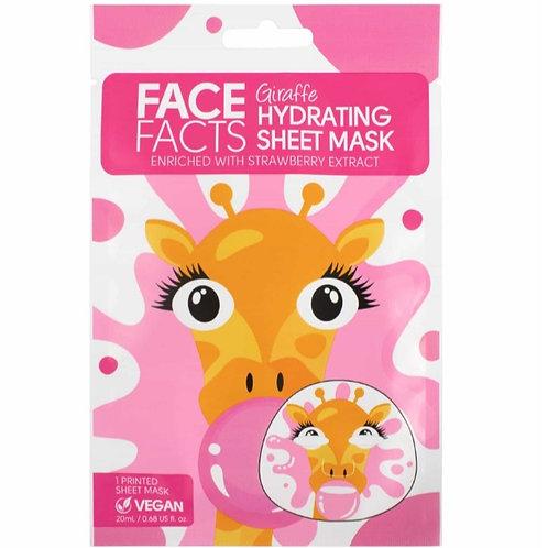 Face Fact Giraffe Hydrating sheet mask
