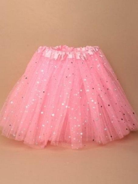 Pink Tutu with Stars Age 3-7 yrs